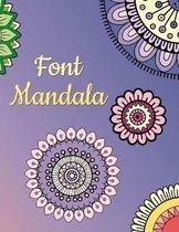 Font mandala