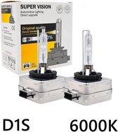 Xenon D1S Lampen - 6000k - wit - Grootlicht / Dimlicht - 12V- 2 Stuks