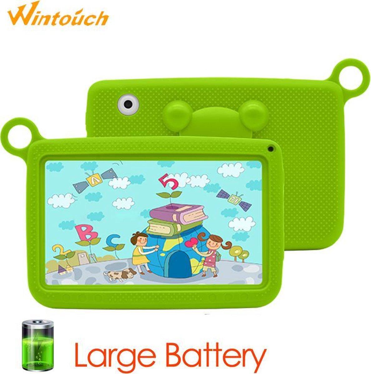 Kindertablet - pro 3.0 - Tablet 7 inch - 16 GB - 9.0 android - vanaf 2 jaar - Scherp ips beeld - leerzame tablet voor kinderen - Wifi - Bluetooth 4.0- voor-achter camera - Play store - extra screen protector - uitstekende batterij - 1 jaar garantie