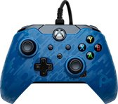 PDP Gaming Xbox Controller - Official Licensed - Xbox Series X/S/Xbox One/Windows - Blauw Camo