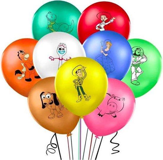 ProductGoods - 9x Toy Story Ballonnen Verjaardag - Verjaardag Kinderen - Ballonnen - Ballonnen Verjaardag - Toy Story - Kinderfeestje