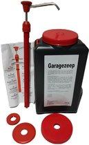 Garagezeep 4.5 L + Doseerpomp - Industriële handreiniger met korrel - Fris parfum