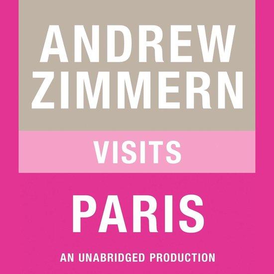 Boek cover Andrew Zimmern visits Paris van Andrew Zimmern (Onbekend)