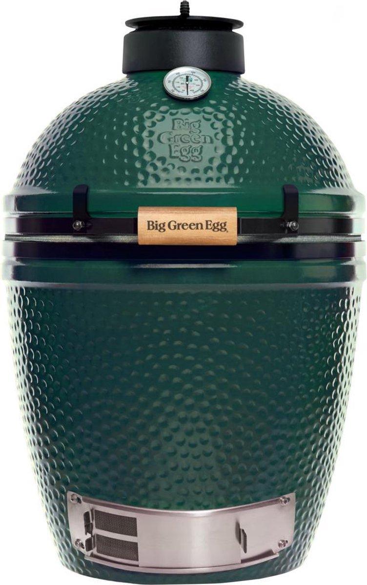 Big Green Egg Medium - Met onderstel en Zijtafels