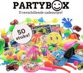 Uitdeelcadeautjes 50 STUKS - Traktatie - Klein speelgoed - Grabbelton - Pinata vulling - Kinderfeestje