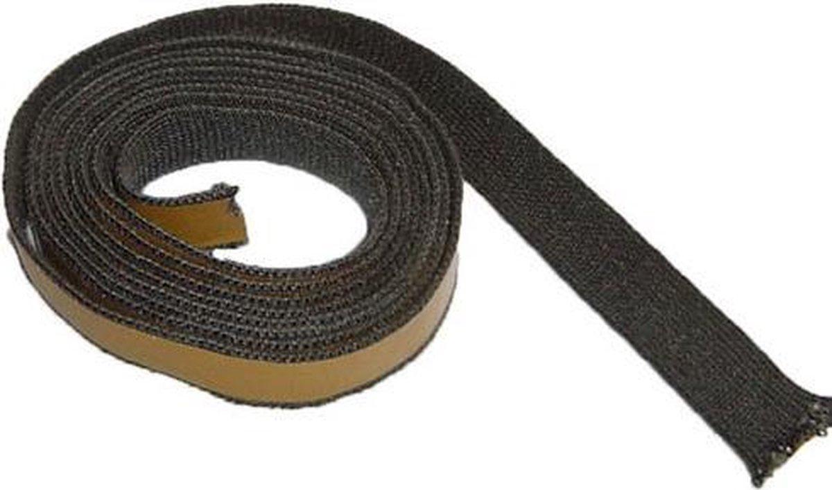 BKB Kachelkoord plat zelfklevend 10 x 2 mm lengte 2,5 mtr - plat - zelfklevend - L2500/B20/D2