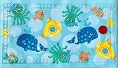 Badmatje - Met temperatuurindicator - Antislip - Antislipmat - Badmat - Voor kinderen en baby's - In bad en douche - 68 x 40 cm