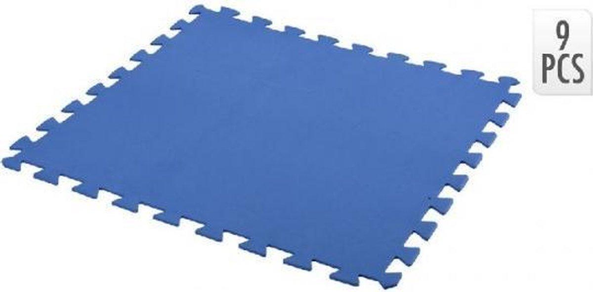 Free And Easy Zwembadtegels 50 X 50 Cm Foam Blauw 9 Stuks