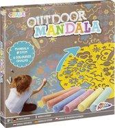 Mandala tekeningen maken   Buitenspeelgoed   stoepkrijt   Grafix