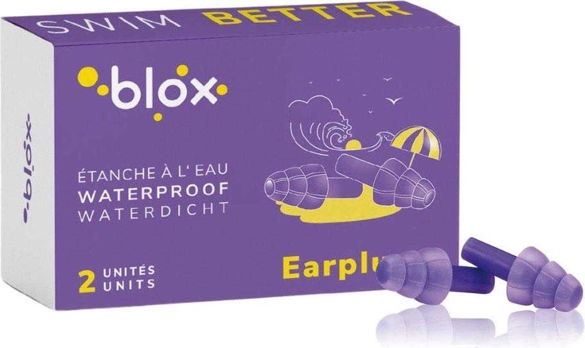 Blox Aqua Volwassenen - 1 paar - De oordopjes voor wateractiviteiten - Gehoorbescherming voor zwemme