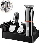 M-Iconic Bodygroomer - 6 in 1 set - Body trimmer heren - Ontharingsapparaat - Bodygroomer mannen - Douchebestendig