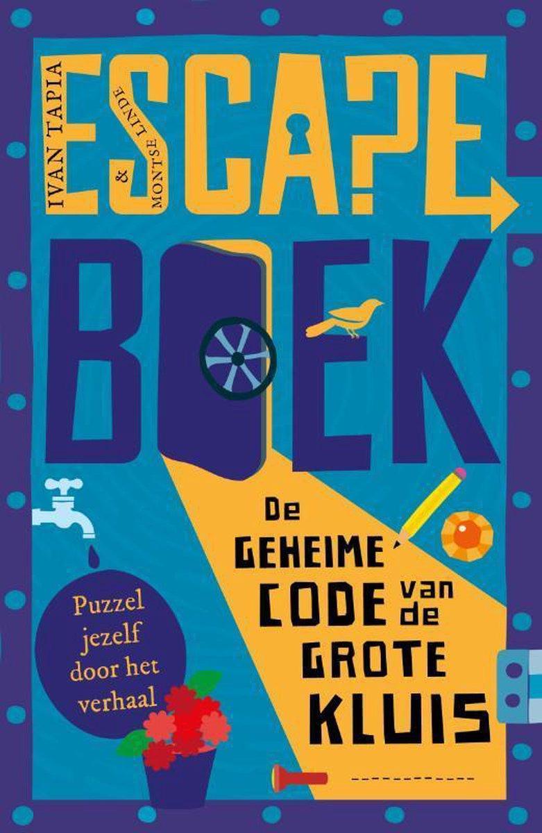 Escape boek   De geheime code van de Grote Kluis