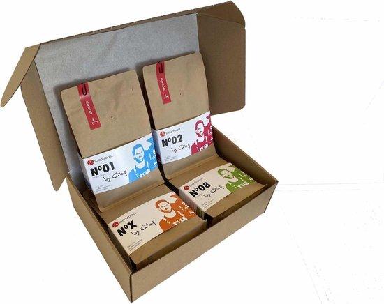 Localroast Koffie Proefpakket Bonen | Vers gebrand | Top selectie | 4 x 250g | Cadeaupakket