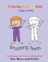Coloring Book for Kids (Ages 4-8)