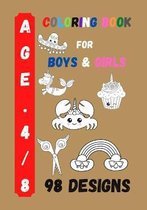 Coloring Book for Boys and Girls