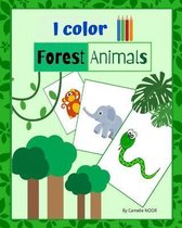 I color Forest Animals