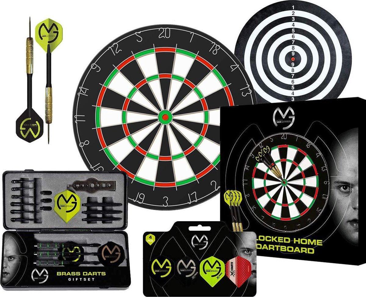 Dragon Darts Michael van Gerwen Super Set - dartbord - dartpijlen