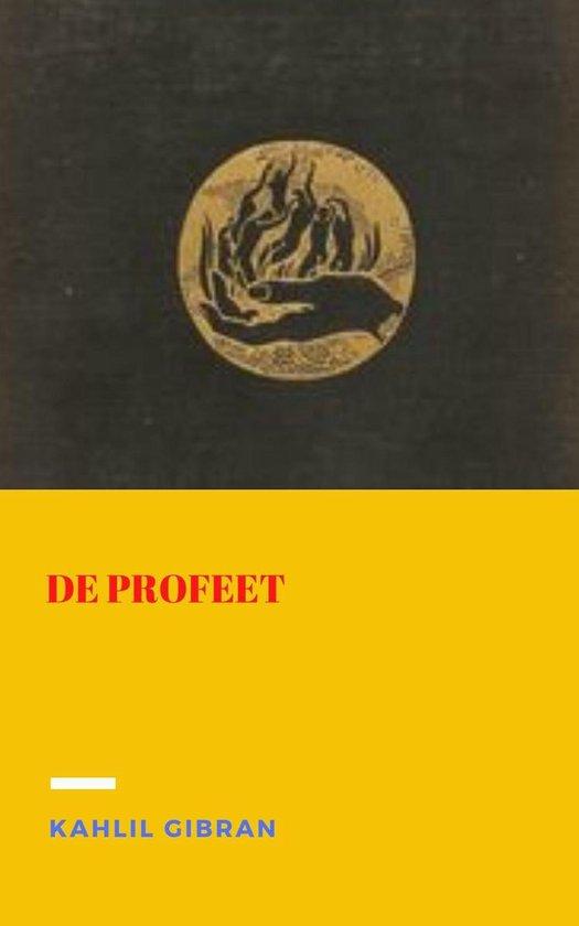 Boek cover De profeet van Kahlil Gibran (Onbekend)