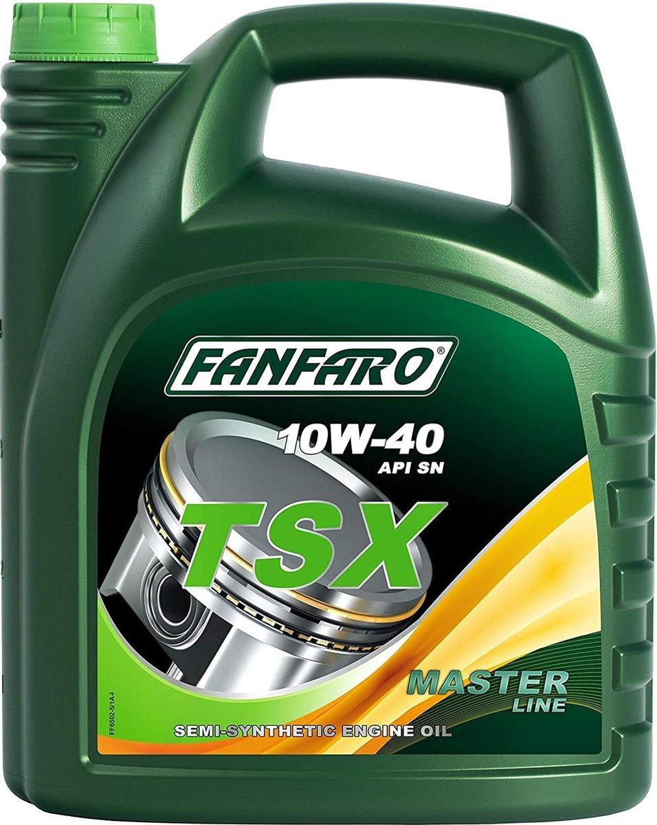 Fanfaro TSX | 10W-40 | Semi-Synthetische Motorolie |  5 Liter