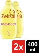 Zwitsal Baby Bodylotion - 2 x 400 ml - Voordeelverpakking