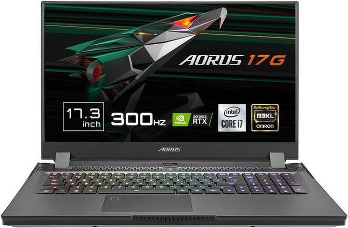 "Gigabyte AORUS 17G XC - Gaming Laptop - NVIDIA GeForce RTX 3070 8 GB - 17.3"" 300Hz FHD - Intel Core i7-10870H - 32 GB RAM - 512 GB SSD PCIe NVMe - Windows 10 Home"