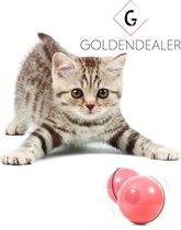 GOLDENDEALER™ - Magische Bal Interactief Speelgoed Hond/Kat - Kattenspeeltje - Diervriendelijk Kattenspeeltje - Speelgoed Voor Dieren - USB oplaadbaar - Roze