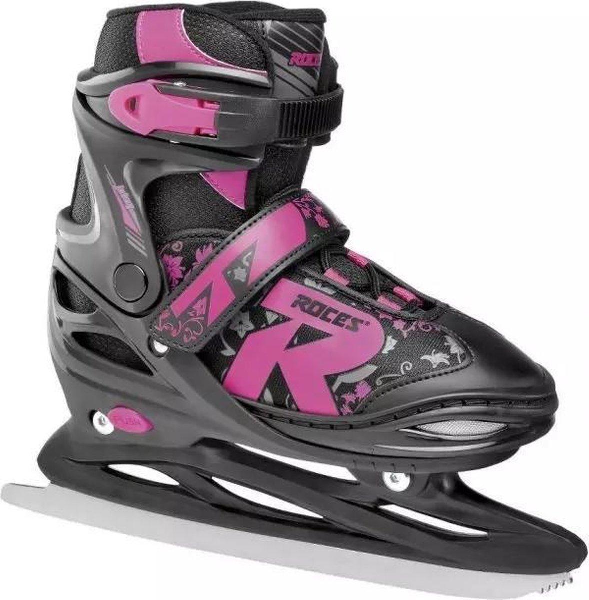 Roces Verstelbare schaatsen maat 30/33 34/37 38/41 schaatsen zwart