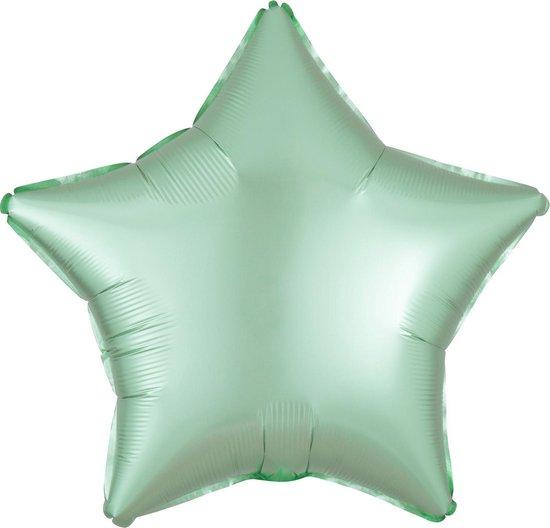 Amscan Folieballon Pastel Star 40 Cm Mintgroen