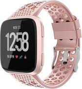 YONO Fitbit Versa 2 Bandje - Siliconen - Sport Air - Rose Gold - Small