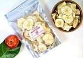 100 Gram Gedroogde Appelschijfjes/gedroogd fruit/snack/geen toegevoegde suiker/vegetarisch