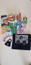 Japanse Snoep Snack | Matcha Pocky  Kitkat | Cadeau voor Japanliefhebbers |  Geschenk Pakket | Surprise Goodie Box | Uitdeelcadeau