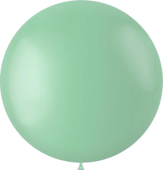 Mintgroene Ballon Powder Pistache 80cm