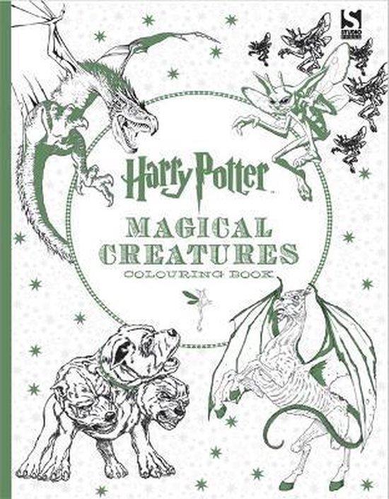 Boek cover Harry Potter Magical Creatures Colouring Book van Warner Bros. Entertainment (Onbekend)