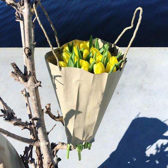 Tulpen | Tulpen boeket | Tulpenvaas | Tulpen geel | BloomitUp