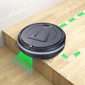 Zilan | Robotstofzuiger - HEPA-filter - Zuigkracht 550pa - Anti-vastloop functie - Zijborstels