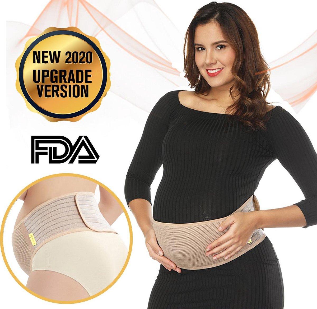 SIMIA™ Premium Zwangerschapsband - Verstelbaar buikband - Bekkenband - Ondersteuning - Tegen rugklac