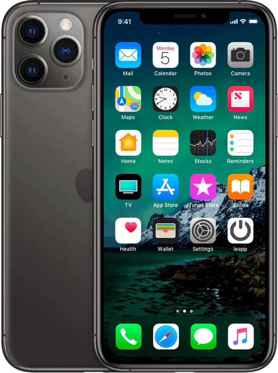 Apple iPhone 11 Pro - 64 GB - Space Gray - Refurbished door leapp - B-grade