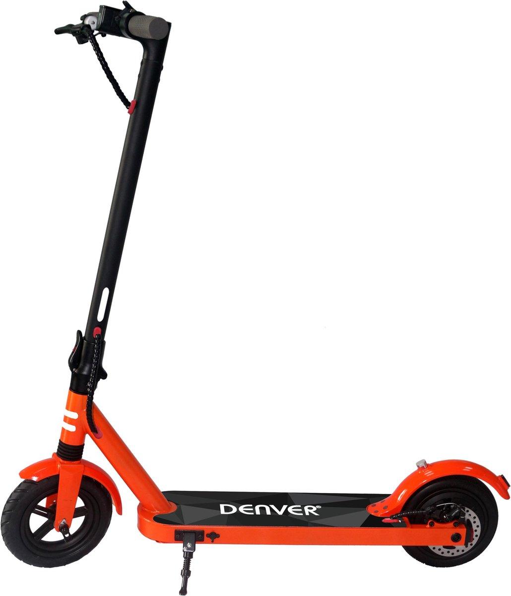 """Denver SEL-85350F Elektrische step voor kinderen & volwassenen 8.5"""""""" Wielen 25 km/u E-Step met aluminium frame actieradius 18KM Inklapbaar Met LED verlichting voor & achter E-Scooter Oranje online kopen"""