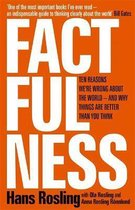 Boek cover Factfulness : Ten Reasons Were Wrong About The World - And Why Things Are Better Than You Think van Hans Rosling (Hardcover)