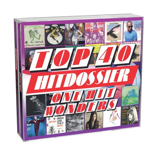 CD cover van Top 40 Hitdossier - One Hit Wonders van Top 40