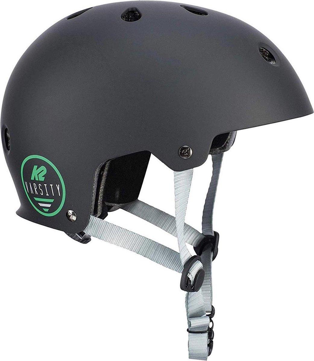 K2 Varsity Helm Sporthelm - UnisexKinderen en volwassenen - zwart