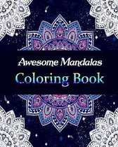 Awesome Mandalas Coloring Book