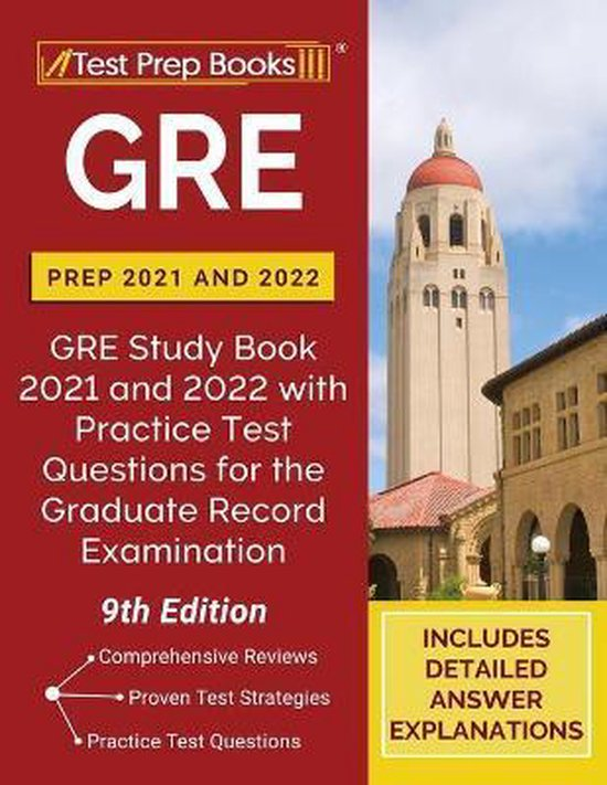 GRE Prep 2021 and 2022