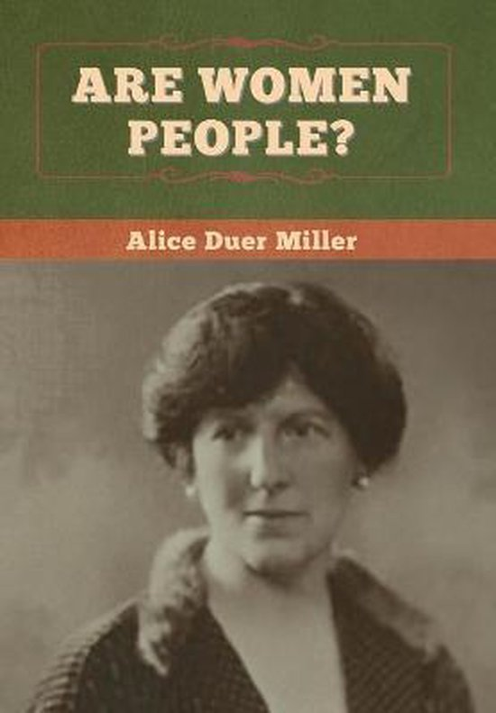 Boek cover Are Women People? van Alice Duer Miller (Hardcover)