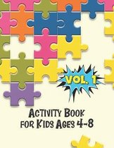 Activity Book for Kids Ages 4-8