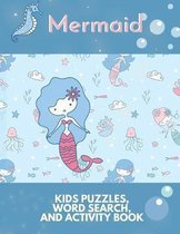 Mermaid Kids Puzzles Word Search and Activity Book