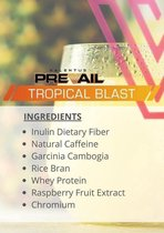 """Valentus Prevail """"Tropical Blast"""" Pina Colada - 100% natuurlijk - Maandpakket"""