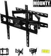Mounty tv muurbeugel – tv beugel – tv beugel draaibaar en kantelbaar – universeel – 32/75 inch – maximale belasting 100 Kg – tot aan vesa 400x400