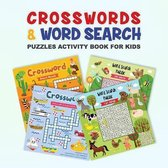 Crosswords & Word Search Puzzles Activity Book for Kids