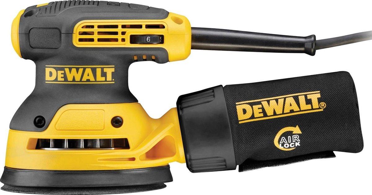 DeWalt DWE6423-QS280W Excentrische Schuurmachine- 280 W -    125 mm schuuroppervlak